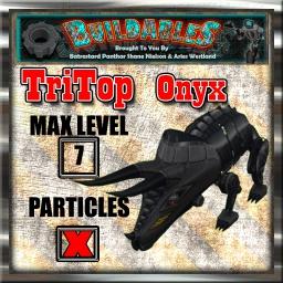 Display crate Vyper TriTop Onyx