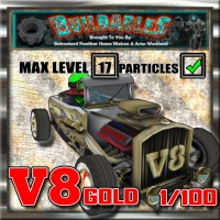 Display crate V8 Gold