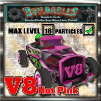 Display crate V8 Hot pink