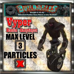 Display crate Vyper Battle Amythyst