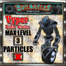 Display crate Vyper Battle Glacia