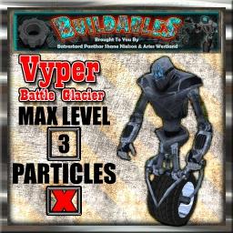 Display crate Vyper Battle Glacia