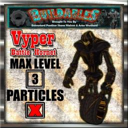 Display crate Vyper Battle Hornet