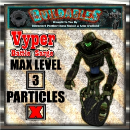 Display crate Vyper Battle Sarge