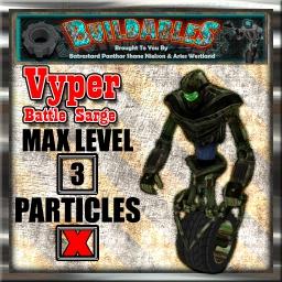 Display crate Vyper Battle Sarge
