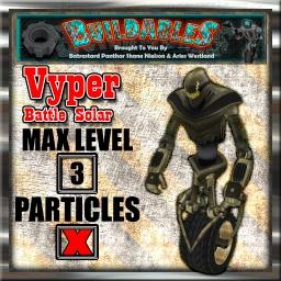 Display crate Vyper Battle Solar