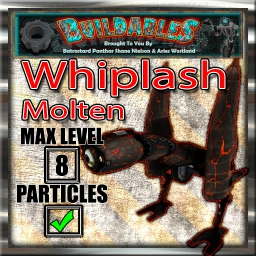 Display crate Whiplash Molten