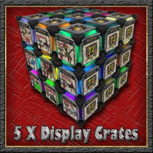 5 display crates recycler