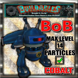 Display crate BoB Cobalt