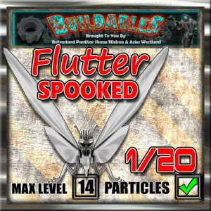Display crate Flutter Spooked