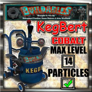 Display crate KegBert Cobalt