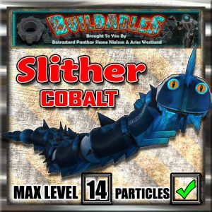 Display crate Slither Cobalt