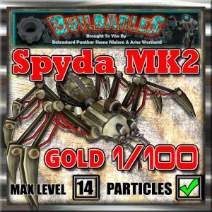 Display crate Spyda2 Gold