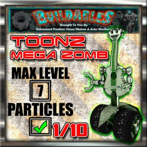 Display crate Toonz Mega Zomb
